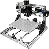 Mophorn CNC 2418 CNC Machine GRBL Control CNC Router Kit 3 Axis with Offline Controller Goggles and Table Lamps Milling Machine for Wood PVCs PCBs(240x180x40mm,Offline Controller)