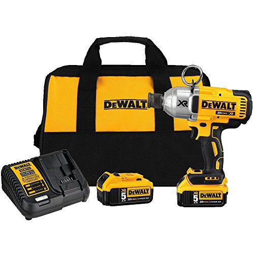 DEWALT 20V MAX XR Cordless Impact Wrench Kit with Quick Release Chuck (DCF898P2)