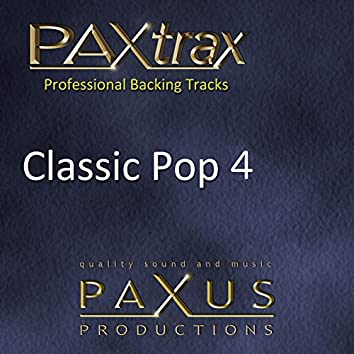 Paxtrax Professional Backing Tracks: Classic Pop 4