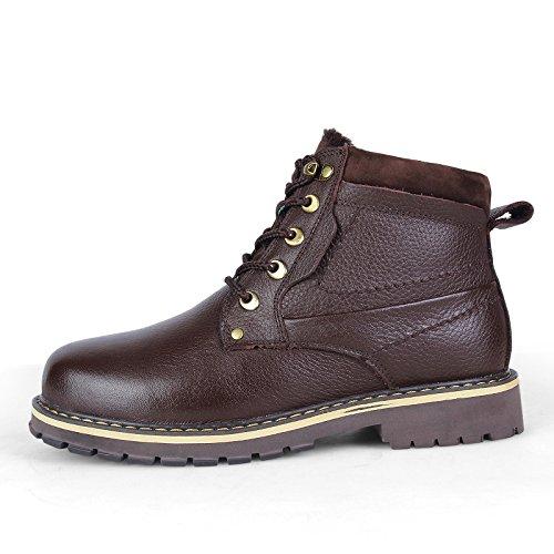 FHCGMX Mode Enkellaarzen Mannelijke Schoenen Voor Mannen Volwassen Winter Comfortabele Korte Pluche Martin Laarzen Schoeisel