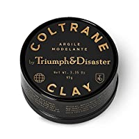 Triumph & Disaster Coltrane Clay 3.35oz - Hair Pomade For Men - Medium Hold Matte Finish Hair Styling Product - Reworkable Styling Clay With Beeswax