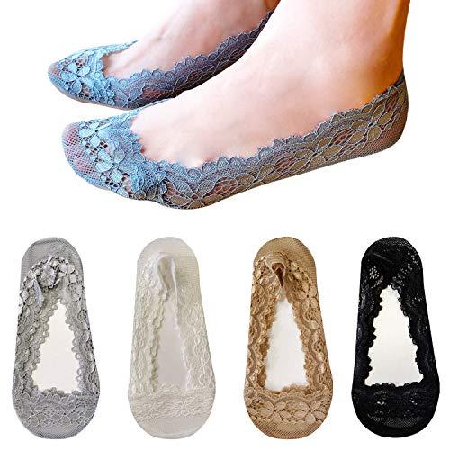 L&K-II 15er Pack Damen Füßlinge Ballerina Socken 2012 Mehrfarbig 35-38