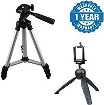 Cospex Lightweight Mini 228 Tripod Stand with 3110 Universal Aluminum Portable Digital Camera Tripod Stand