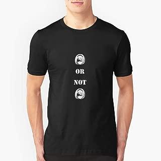Nier Automata 2B or not 2B Slim Fit TShirtT shirt Hoodie for Men, Women Unisex Full Size.
