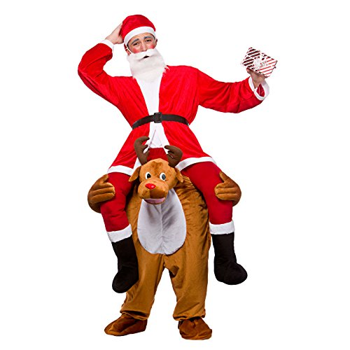 Carry Me Reindeer Adult Costume One Size