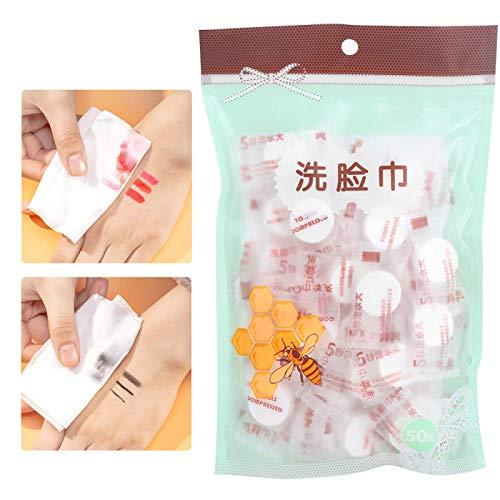 Paño de limpieza facial Mini tejido de limpieza portátil para mujeres para viajes para desmaquillar para limpieza facial