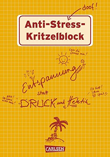 Anti-Stress Kritzelblock