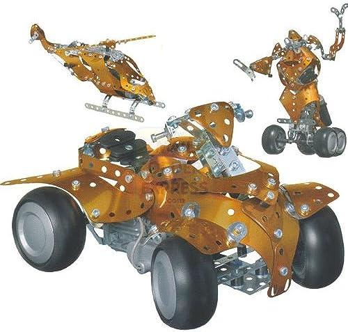 Meccano 51846700 - Desing 3, 10 Modelle
