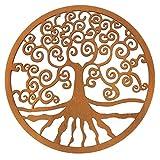 Spruchreif Premium Qualität 100% Emotional - Árbol de la vida de madera para decoración de pared, regalo esotérico y espiritual