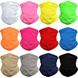 WONBURY Headband Bandana 12-in-1 Versatile Sports Solid Headwear Neck Gaiter Headwrap Balaclava Facemask Helmet Liner for Camping, Running, Cycling, Fishing, Hiking