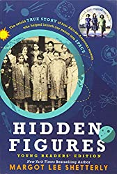 hidden figures young readers blue book cover
