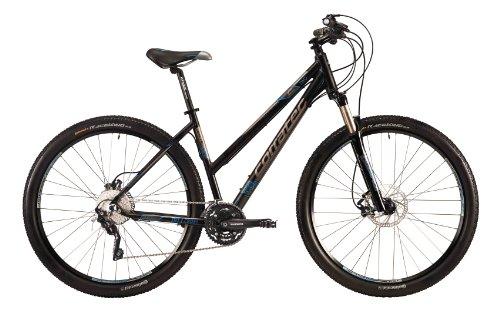 Corratec Damen Fahrrad C29 M Cross 02, Schwarz Matt, 48, BK17126-0048