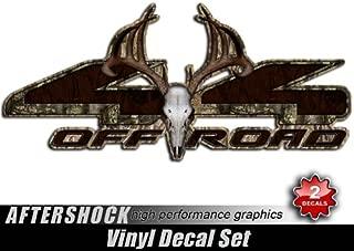 Decals Camo Skull Sticker 4x4 Truck Archery Camouflage Hunting Set