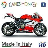 Zoom IMG-1 gamesmonkey adesivi stickers kit ducati