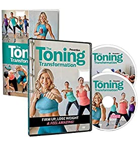 Tone Up & Slim Down in Just 8 Weeks! Tone your belly, butt, and thighs with six different 20-minute workouts. All you need to get started are some light weights and an exercise mat or carpeted surface. Work out in the privacy and comfort of your home...