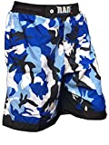 RAD Pantalones cortos de combate MMA Muay Thai, para artes marciales mixtas (camuflaje...