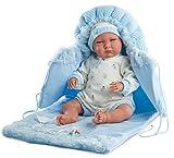 Llorens 74039 Newborn Lalo muñeca, 42