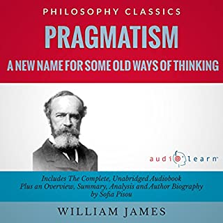 Pragmatism audiobook cover art