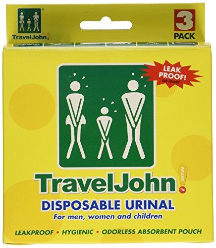 TRAVEL JOHN Wegwerf Urinal