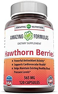 Amazing Formulas Hawthorn Berries 100% Pure Hawthorne Berry Extract * Powerful Anioxidant Activity * Supports Cardiovascul...