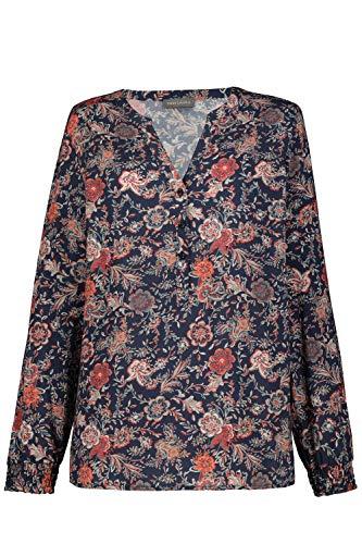 GINA LAURA Damen Bluse Dunkles Marine 38 790112120-38