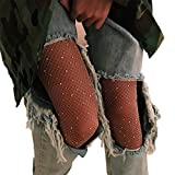 DancMolly Sparkle Rhinestone Fishnet Stockings Crystal High Waist Mesh Hollow Out Pantyhose for Women Tights Set