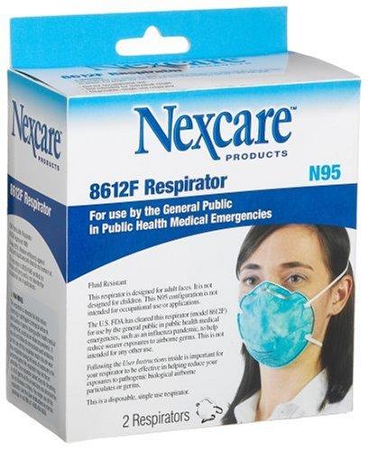 3M Nexcare N95 8612F Respirator