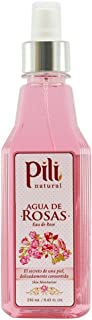 Pili 天然玫瑰水 - 皮肤保湿霜 - 8.4 盎司