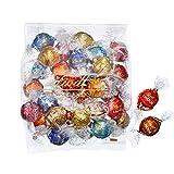 【公式】リンツ (Lindt) チョコレート ホワイトデー リンドール 10種類アソート 詰め合わせ [Aタイプ] 個包装 30個入り (ミニリーフレット付き)