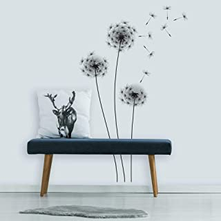 RoomMates RMK2606GM Whimsical Dandelion Peel And Stick Giant Wall Decals ,Multicolor,Medium