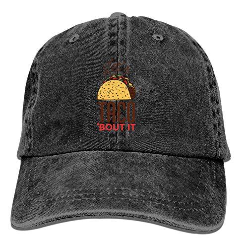 LUXNG Baseball Cap-Tfood met Laat Taco Cowboy Hoeden voor Heren Vrouwen Pa, Sport Baseball Caps
