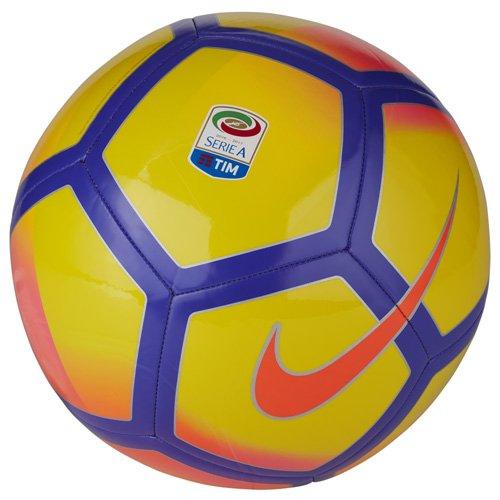 Nike SERIEA NK PTCH, Pallone da Partita Unisex – Adulto, Giallo/Viola/Rosa, 4
