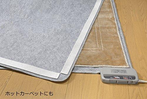 サンコーズレない安心滑り止めテープカーペットマット用4cm×10mおくだけ吸着日本製KJ-77