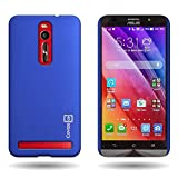 Asus ZenFone 2 Case, Back Cover Protector [CoverON Slender Fit Series] Slim Shell Style with Enhanced Rubberized Matte Grip [Hard Thin Plastic Shield] Phone Cover Case For Asus ZenFone 2 (5.5) - Blue …