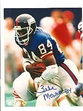 Autographed Zeke Mowatt New York Giants 8x10 Photo Inscribed