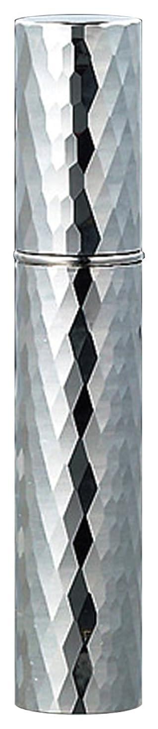 見せます女性読みやすさ22102 メタルアトマイザーダイヤカット シルバー