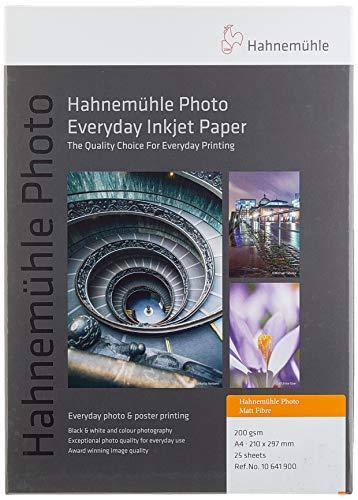 Hahnemühle Photo Matt Fibre papier, 200 g/m2, natuurlijk wit 210 x 297 mm natuurlijk wit