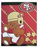 Northwest San Francisco 49ers Royal Plush Baby Blanket