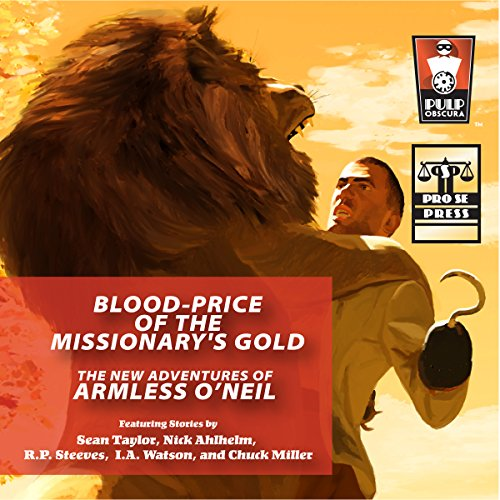 Blood-Price of the Missionary's Gold audiobook cover art