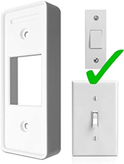 Samotech Toggle Light Switch cover for Philips Hue Dimmer - adapter - cover - plate (SM213)