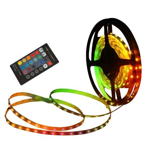 Naeve Leuchten LED Stripe mit Fernbedienung, Farbwechsler, l: 5 m, 150 LEDs 5090261