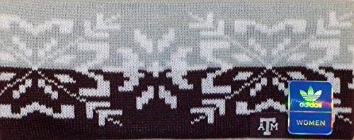 adidas NCAA Texas A&M Aggies Knit Headband - Women OSFA - KD58W