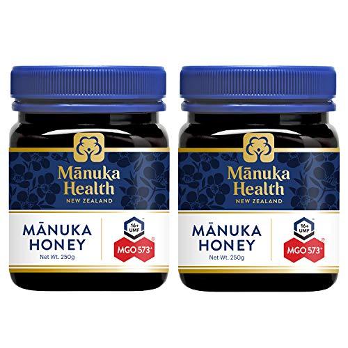 マヌカハニー 2個セット 250g MGO573+ (MGO550+) / UMF16+ [並行輸入品]