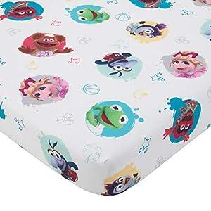 Disney Muppet Babies – Blue, Green, Red & Yellow 2Piece Toddler Sheet Set, Blue, Green, Red, Yellow