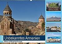 Unbekanntes Armenien (Wandkalender 2022 DIN A2 quer): Armenien ist ein interessantes Land am Rande des Kaukasus (Monatskalender, 14 Seiten )