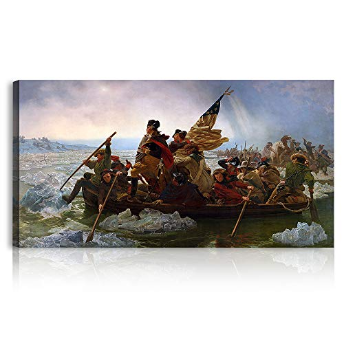 A&T ARTWORK Washington Crossing The Delaware 1851 por Emanuel Leutze The World Classic Art...