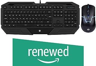 (Renewed) HP Gaming Mouse and Keyboard Combo GK1000