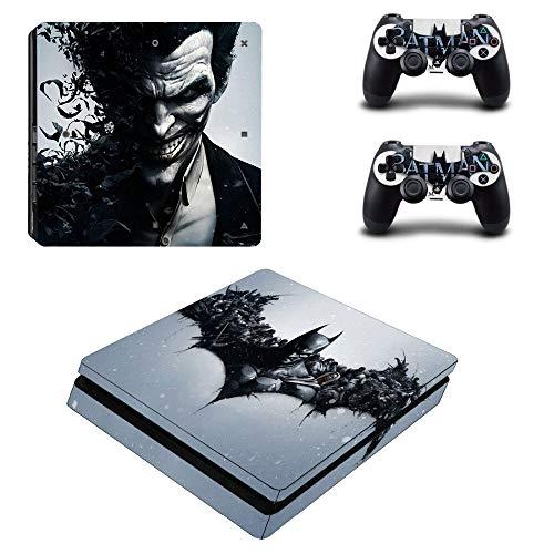 Dc Batman Ps4 Slim Skin Sticker Decal per Playstation4 Slim Console e Controller Ps4 Slim Skin Sticker Vinile Accessori