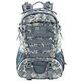 Best Water Proof Backpacks - Tactical Backpack for Men Molle Military Rucksack Pack Review