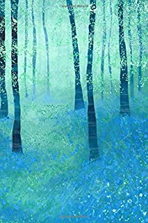Notes: A Blank Ukulele Tab Music Notebook with Bluebell Woods Cover Art